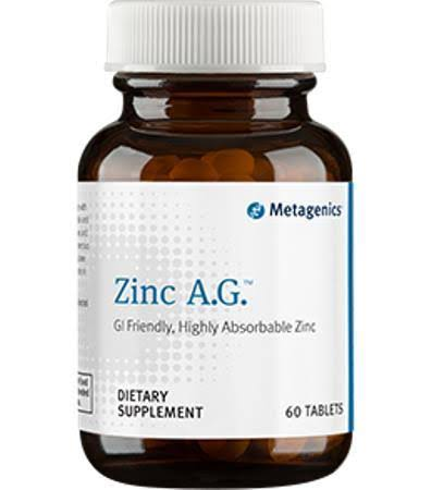 Metagenics Zinc A.G. - 60 Tablets