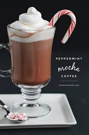 This Peppermint Mocha Coffee Is The Perfect Holiday Beverage To Start Your Day You Will