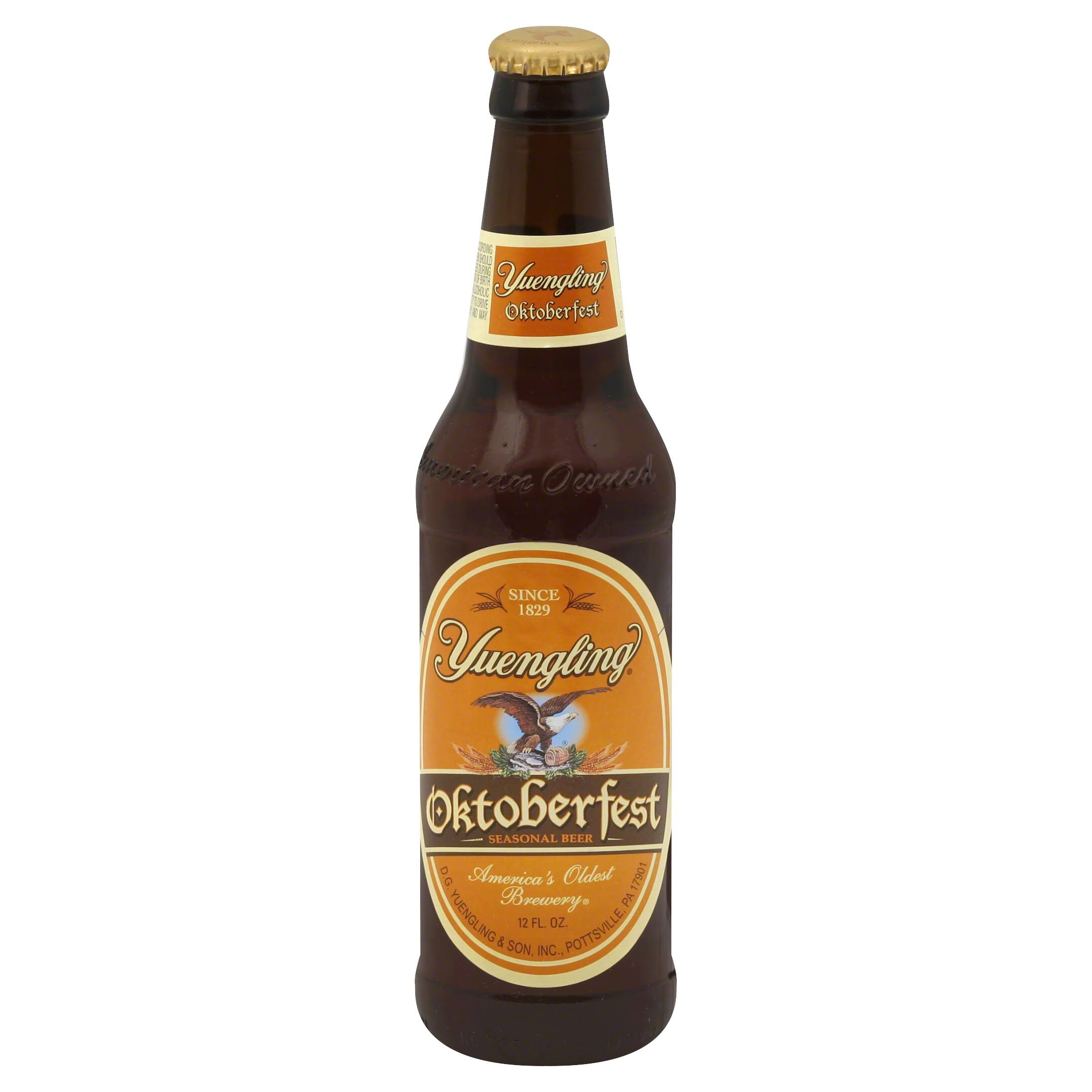 Yuengling Beer, Seasonal, Oktoberfest - 12 fl oz