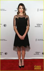 Nikki Reeds Dress Made Her Night At Murder Of A Cat Tribeca Fest Premiere