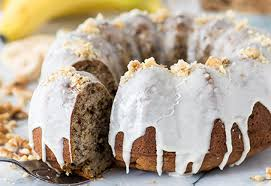Banana Nut Bundt Cake Diamond Nuts