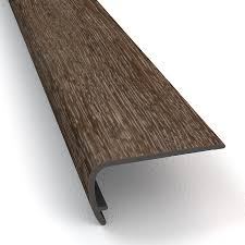 Wood Stair Nosing For Tile by Shop Vinyl Stair Nosing At Lowes Com