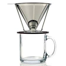 Single Cup Coffee Maker By Meltera Filterless Pour Over