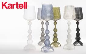 Kartell Bourgie Lamp Silver by Kartell Furniture Kartell Chairs Kartell Bourgie And Kartell Tables