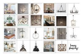Favorite Light Fixtures For Fixer Upper Style