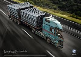Volkswagen Print Advert By Grabarz & Partner: Dead Angle Truck, 3 ...