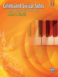 Celebrated Lyrical Solos Book 1