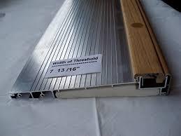 Exterior Inswing Threshold Hardwood Cap 7 13 16