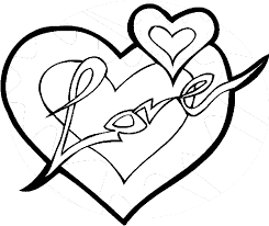Valentines Day Coloring Book Pages Heart