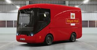 100 Delivery Trucks Royal Mail UK Postal Service Testing Electric