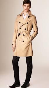 the sandringham u2013 short heritage trench coat in honey men