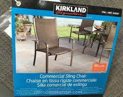 Kirkland Brand Patio Furniture by Furniture Copper Costco Tommy Bahama Beach Chair For Outdoor