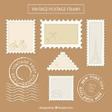 Flat Seals In Vintage Style