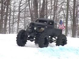 100 Trucks In Snow Lifted Amaze At Schuss Mountain Griztek Challenge