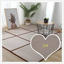 klapp rattan boden matte dicken wohnzimmer boden schlafen matte rattan japanischen tatami teppich pad sommer baby spielen matte slip