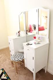 Single Sink Vanity With Makeup Table by Bathroom Modern Makeup Vanity Single Sink Vanity With Makeup
