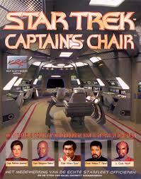 Star Trek Captains Chair by Gaming Trekcore