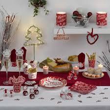 decoration table noel faire soi meme facile décoration de noël