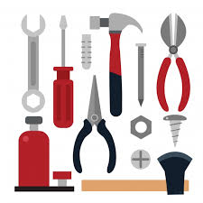 Carpentry Tools Collecti Free Vector