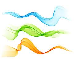 Download Set Color Transparent Smoky Wave Stock Vector Illustration of curl backdrop