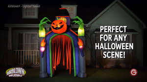 Halloween Inflatable Archway Tunnel by Amazon Com Gemmy Indoor Outdoor Halloween Animatronic Lighted
