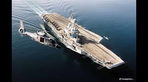 aircraft carrier charles de gaulle un porte avions hyper