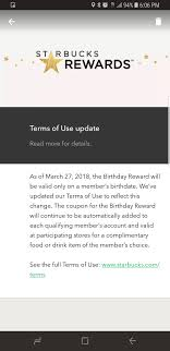 Use Your Starbucks Birthday Reward On Your Birthday: One Day ... Tim Hortons Coupon Code Aventura Clothing Coupons Free Starbucks Coffee At The Barnes Noble Cafe Living Gift Card 2019 Free 50 Coupon Code Voucher Working In Easy 10 For Software Review Tested Works Codes 2018 Bulldog Kia Heres Off Your Fave Food Drinks From Grab Sg Stuarts Ldon Discount Pc Plus Points Promo Airasia Promo Extra 20 Off Hit E Cigs Racing Planet Fake Coupons Black Customers Are Circulating How To Get Discounts Starbucks Best Whosale