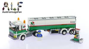 Lego City 3180 Tank Truck - Lego Speed Build Review - YouTube