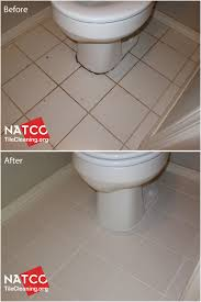 cleaning and colorsealing urine stained grout and caulk around a
