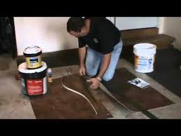 Congoleum Vinyl Flooring Seam Sealer by How To Seam Vinyl Flooring Youtube