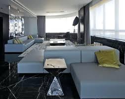 Marble Floor Living Room Black Tiles Granite Design