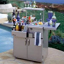Patio Caddie Grill Regulator by Alfresco 30 Inch Bartender Center With Sink On Cart Adt 30c