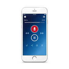 for iPhone Dictation Recorder App
