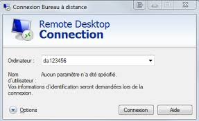 raccourci connexion bureau à distance bureau à distance str soutien technologique et réseautique