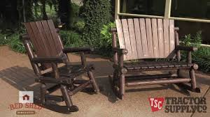Tractor Supply's Red Shed Out Door Furniture Charleston Acacia Outdoor Rocking Chair Soon To Be Discontinued Ringrocker K086rd Durable Red Childs Wooden Chairporch Rocker Indoor Or Suitable For 48 Years Old Beautiful Tall Patio Chairs Folding Foldable Fniture Antique Design Ideas With Personalized Kids Keepsake 3 In White And Blue Color Giantex Wood Porch 100 Natural Solid Deck Backyard Living Room Rattan Armchair With Cushions Adams Manufacturing Resin Big Easy Crp Products Generations Adirondack Liberty Garden St Martin Metal 1950s Vintage Childrens