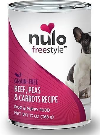 Nulo FreeStyle Grain Free Canned Dog Food - Beef and Vegetables, 13oz