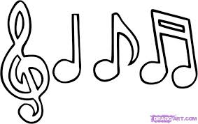 Mobile Coloring Pages Music Notes In Musical Futpal