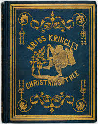 Christmas Tree Books by Santa And The Christmas Tree In Nineteenth Century American