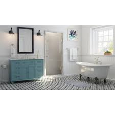 Home Decorators Collection Vanity by Home Decorators Collection Hamilton Shutter 49 5 In Vanity In Sea