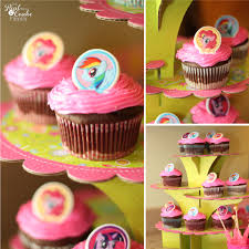 Cake Decoration Ideas With Gems by My Little Pony Birthday Party Food And Decorating Ideas