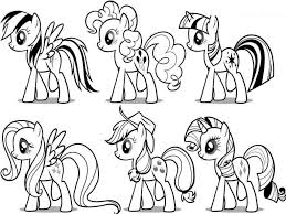 Collection Of Solutions 2017 My Little Pony Printable Coloring Pages About Format Sample