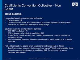 ppt coefficients convention collective métallurgie powerpoint