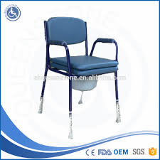 handicap toilet chair with wheels european style transfer commode chair plastic commode chair
