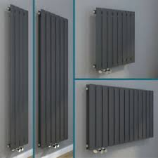 details zu design heizkörper flachheizkörper wandheizkörper vertikal horizontal anthrazit