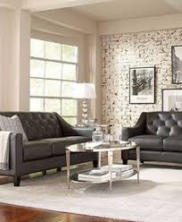 Alessia Leather Sofa Living Room by Alessia Leather Sofa Living Room Furniture Collection Shop All