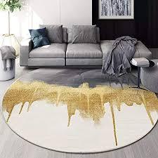 de cozy mode nacht teppich kreative gold grau