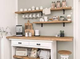 küchen makeover stylische kaffeebar für unsere küche