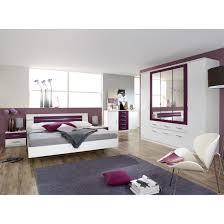 schlafzimmer set burano 4 teilig alpinweiß brombeer