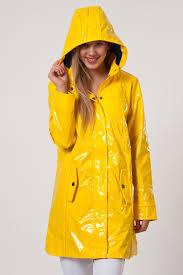 yellow pvc hooded raincoat pvc raincoats pinterest hooded