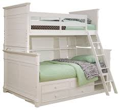 Twin White Bed by 15 Allentown Twin Over Twin Bunk Bed Espresso Shop Houzz